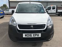 USED 2016 16 PEUGEOT PARTNER 1.6 BLUE HDI PROFESSIONAL L1 100 BHP **LOW MILES**