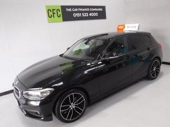 2015 BMW 1 SERIES 1.5 116D ED PLUS 5d 114 BHP £9500.00