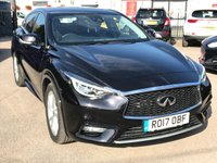 USED 2017 17 INFINITI Q30 1.5 D SE 5d DCT AUTOMATIC WITH BUSINESS PACK, SAT NAV  NO DEPOSIT  PCP/HP FINANCE ARRANGED, APPLY HERE NOW