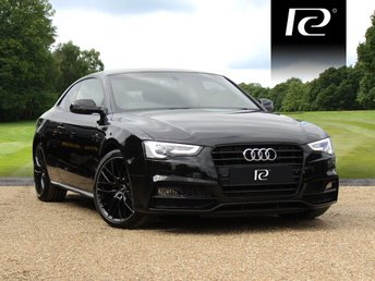 2016 AUDI A5 1.8 TFSI BLACK EDITION PLUS 3d AUTO 175 BHP £21990.00
