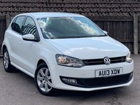 2013 VOLKSWAGEN POLO 1.2 MATCH EDITION 5d 69 BHP £5795.00