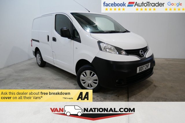 USED 2017 17 NISSAN NV200 1.5 DCI ACENTA  90 BHP * BLUETOOTH * REAR CAMERA * READY TO DRIVE AWAY TODAY *