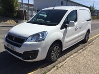 2017 PEUGEOT PARTNER L1 850 Professional 100ps (Look Pack, Front PDC & Folding Mirrors) £8995.00