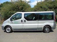 USED 2013 13 VAUXHALL VIVARO 2.0CDTI 2900 113 BHP 9 SEATER LWB MINI BUS MPV 5 DR +NO VAT+JULY 2020 MOT+