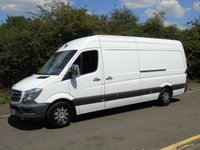 2014 MERCEDES-BENZ SPRINTER 313 2.1 CDI 129 BHP LWB LOW ROOF PANEL VAN £7495.00