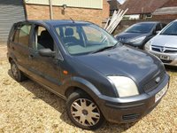 2004 FORD FUSION 1.4 FUSION 2 5d 78 BHP NO MOT PX TO CLEAR £190.00