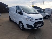 2015 FORD TRANSIT CUSTOM 2.2 290 LIMITED L2 H1 LOW ROOF PANEL VAN  124 BHP £9995.00