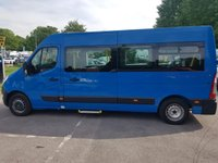 2011 RENAULT MASTER LM35 2.3DCI 100 BHP 6 SEATER LWB DISABLED PASSENGER MINI BUS £8995.00