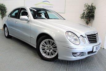 2007 MERCEDES-BENZ E CLASS 2.1 E220 CDI AVANTGARDE 4d AUTO 168 BHP £4450.00