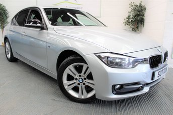 2012 BMW 3 SERIES 2.0 318D SPORT 4d 141 BHP £6890.00