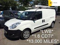 2014 FIAT DOBLO LWB MAXI 1.6 CDTi 16V MULTIJET 105 BHP *13,000 MILES*