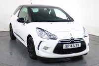 USED 2014 14 CITROEN DS3 1.6 DSTYLE PLUS 3d 120 BHP 2 OWNERS with 5 Stamp SERVICE HISTORY