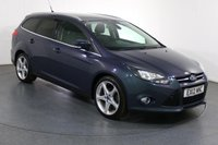USED 2012 12 FORD FOCUS 1.6 TITANIUM TDCI ESTATE 115 5d 114 BHP 3 OWNERS with 5 Stamp SERVICE HISTORY
