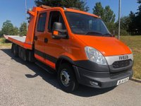 2014 IVECO DAILY DAILY 70C17  CREW CAB ROGER DYSON TILT AND SLIDE 3.0 170 BHP MANUAL £24995.00