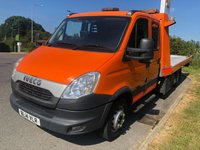 USED 2014 14 IVECO DAILY DAILY 70C17  CREW CAB ROGER DYSON TILT AND SLIDE 3.0 170 BHP MANUAL Ex RAC Fitted With Top Of Range Recovery Equipment, Well Looked After With Fully Documented Service Records, Superb Example!