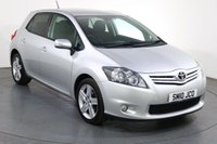 USED 2010 10 TOYOTA AURIS 1.6 SR VALVEMATIC 5d 132 BHP 2 LADY OWNERS with 9 Stamp SERVICE HISTORY