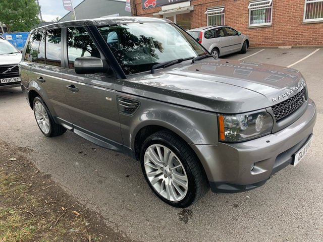 USED 2011 11 LAND ROVER RANGE ROVER SPORT 3.0 TDV6 HSE 5d AUTO 245 BHP 5 SERVICE STAMPS TO 36K, SAT NAV, HEATED LEATHER SEATS, CRUISE CONTROL, CLIMATE CONTROL, COMMAND SHIFT