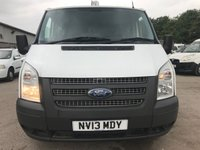 USED 2013 13 FORD TRANSIT T260 100PS 6 SPEED SWB FACTORY 6 SEAT CREW VAN **GREAT VALUE**