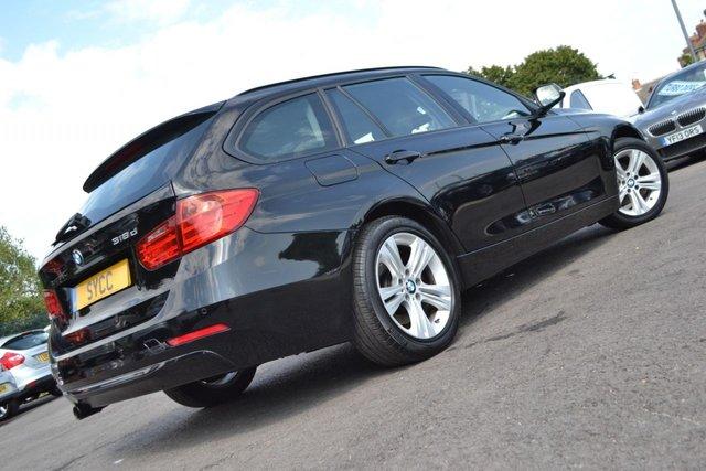 USED 2015 15 BMW 3 SERIES 2.0 318D SPORT TOURING 5d 141 BHP ~ SAT NAV ~ POWER TAILGATE POWER TAILGATE ~ SAT NAV ~ CLIMATE CONTROL ~ 2 KEYS