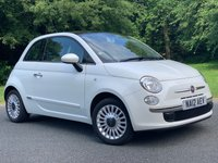 2012 FIAT 500 1.2 LOUNGE 3d. PANORAMIC ROOF + ALLOYS + A/C £4240.00