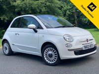 USED 2012 12 FIAT 500 1.2 LOUNGE 3d. PANORAMIC ROOF + ALLOYS + A/C