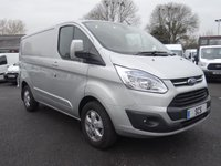 USED 2015 15 FORD TRANSIT CUSTOM 310 LIMITED L1 SWB 2.2 TDCI 155 BHP Popular High Specification Limited Custom With Larger 155 Bhp Engine & Higher 3100 Kg GVW Capacity