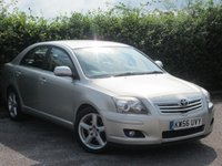 USED 2007 56 TOYOTA AVENSIS 2.2 T SPIRIT D-4D 5d  * FULL LEATHER BLACK LEATHER INTERIOR *