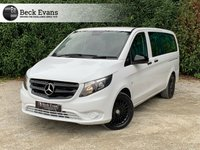 USED 2017 67 MERCEDES-BENZ VITO 2.1 119 BLUETEC TOURER SELECT 5d AUTO 190 BHP