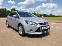 2012 FORD FOCUS 1.6 TITANIUM 5d 124 BHP £5995.00