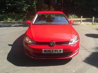 USED 2013 63 VOLKSWAGEN GOLF 2.0 SE TDI BLUEMOTION TECHNOLOGY DSG 5d AUTO 148 BHP CALL OUR SUPER FRIENDLY TEAM FOR MORE INFO 02382 025 888