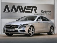 USED 2013 MERCEDES-BENZ CLS CLASS 2.1 CLS250 CDI BLUEEFFICIENCY AMG SPORT 4d AUTO 204 BHP