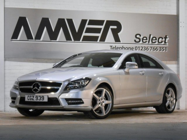 2013 MERCEDES-BENZ CLS CLASS 2.1 CLS250 CDI BLUEEFFICIENCY AMG SPORT 4d AUTO 204 BHP