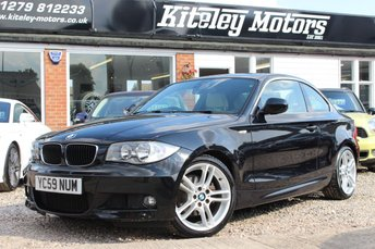 2009 BMW 1 SERIES 125i M SPORT 3.0 AUTO COUPE £9995.00