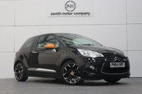 USED 2014 64 CITROEN DS3 1.2 DSIGN BY BENEFIT 3d 82 BHP