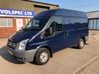 USED 2012 12 FORD TRANSIT 2.2 300 SWB MED ROOF 85 BHP LOW MILEAGE!