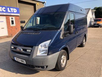 2012 FORD TRANSIT 2.2 300 SWB MED ROOF 85 BHP LOW MILEAGE! £5000.00