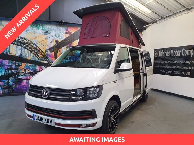 View our VOLKSWAGEN T6 CAMPER VAN