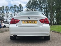USED 2011 61 BMW 3 SERIES 2.0 320D EFFICIENTDYNAMICS 4d 161 BHP FULL YEAR MOT + 1 PREVIOUS KEEPER + PARKING AID + CLIMATE CONTROL + BLUETOOTH + SERVICE RECORD +