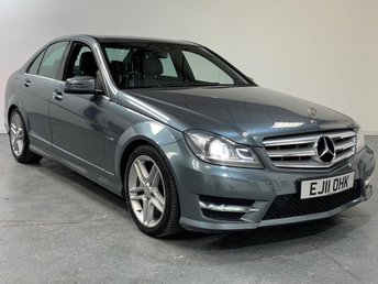 2011 MERCEDES-BENZ C CLASS 2.1 C220 CDI BLUEEFFICIENCY SPORT ED125 4d AUTO 170 BHP £7595.00