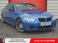 USED 2013 63 BMW 3 SERIES 2.0 320D M SPORT 2d 181 BHP £3710 extras!