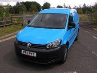 2011 VOLKSWAGEN CADDY MAXI 1.6 C20 TDI 1d 101 BHP Van - NO VAT £6795.00