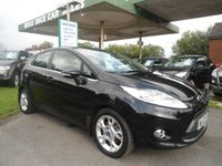 2012 FORD FIESTA 1.2 ZETEC 5d 81 BHP ONE FORMER KEEPER £4495.00