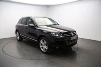 USED 2014 64 VOLKSWAGEN TOUAREG 3.0 V6 R-LINE TDI BLUEMOTION TECHNOLOGY 5d AUTO 202 BHP SAT NAV - LEATHER HEATED SEATS