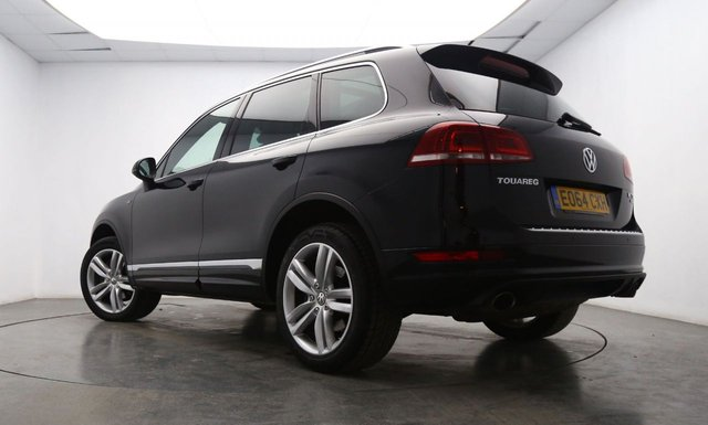 VOLKSWAGEN TOUAREG at Georgesons