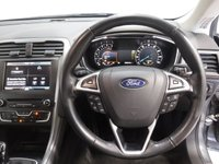 USED 2015 65 FORD MONDEO 2.0 TITANIUM TDCI 5d 148 BHP ONE ONWER FORD SERVICE HISTORY, SAT NAV, LEATHER SEATS
