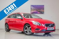 USED 2012 12 VOLVO V60 1.6 DRIVE R-DESIGN S/S 5d 115 BHP August 2020 MOT & Just Been Serviced