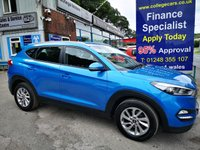 USED 2016 16 HYUNDAI TUCSON 1.7 CRDI SE NAV BLUE DRIVE 5d 114 BHP, only 24000 miles ***APPROVED DEALER FOR CAR FINANCE247 AND ZUTO  ***