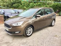 USED 2016 16 FORD GRAND C-MAX 1.5 ZETEC TDCI 5d 118 BHP, only 36000 miles ***OCTOBER MEGA DEAL........A LIFETIME WARRANTY and 2 YEARS SERVICING AVAILABLE WITH THIS VEHICLE ***