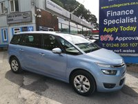 USED 2016 16 CITROEN C4 GRAND PICASSO 1.6 BLUEHDI VTR PLUS 5d 118 BHP, only 22000 miles ***APPROVED DEALER FOR CAR FINANCE247 AND ZUTO ***