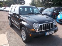 USED 2007 JEEP CHEROKEE 2.8 LIMITED CRD 5d 161 BHP Great 4X4 with 2 keys, a long MOT at time of sale and drives lovely!